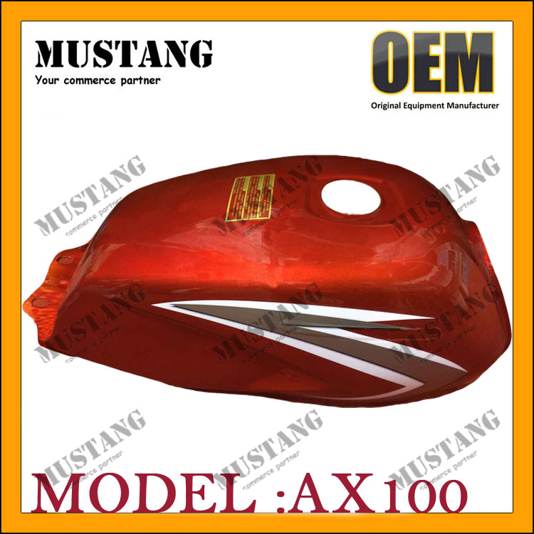 Top Quality Gas Tank Custom Motorcycle Fuel Tank Red Design for SUZUKI