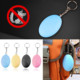 Self Defense Alarm Egg Shape Girl Women Anti-Attack Anti-Rape Security Protect Alert Personal Safety Scream Loud Keychain Alarm