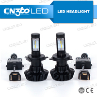 2016 7HL h4 h7 h8 h11 9005 9006 9007 9012 fanless g7 led headlight