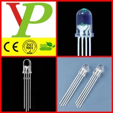 5mm rgb led 4 pin common cathode