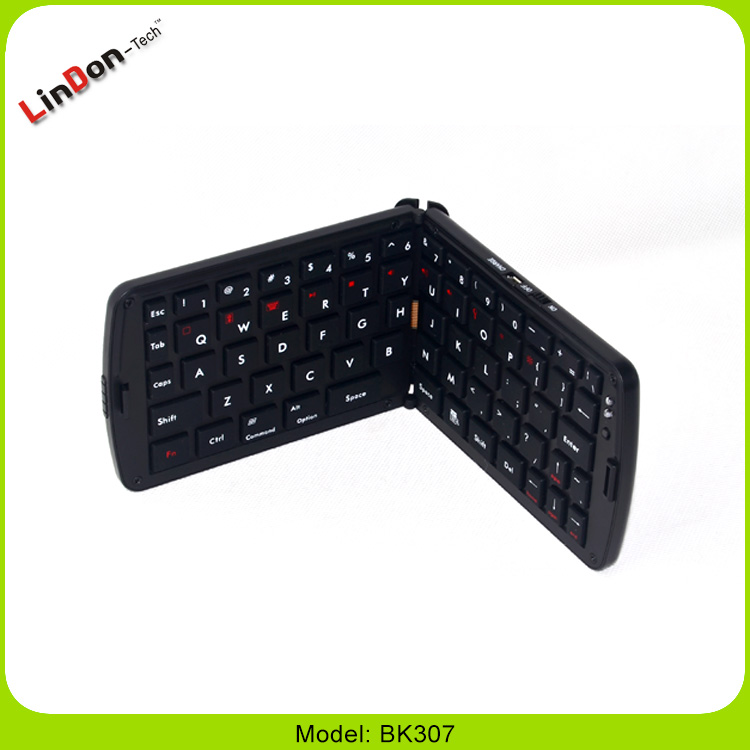 Portable Folding Bluetooth Mini Wireless Keyboard Case For Tablets, Smartphone