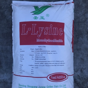 Cheap L-Lysine Sulphate 70% promote healthy & growth for animal and poultry feed grade additives amino acids