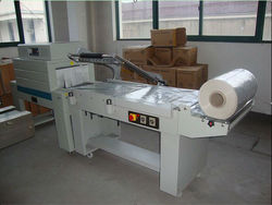 hot sale! semi auto L type sealer & shrink tunnel
