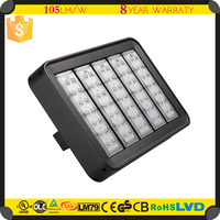 Die Cast Aluminum Housing Outdoor 200w LED Solar Flood Lighting With Timer
