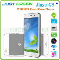 Discount Price!Android 4.2 OS 4.5 Inch Capacitive Touch Screen MTK6589T Quad Core RAM 2GB ROM 32GB OTG Jiayu G5 Mobile Phone