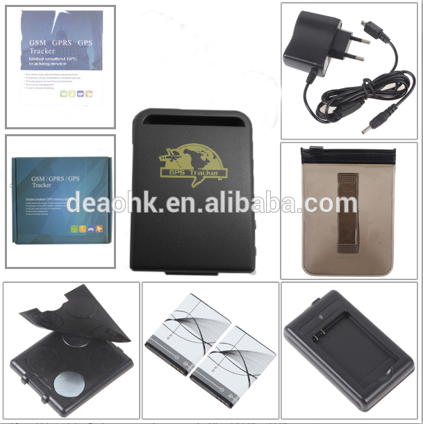 mini/SOS alarm/Geo-fence/and Waterproof Personal/ Vehicle/GPS tracker tk102B,gt02,tk110,tk203