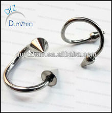 fashion surgical steel spiral eyebrow piercing designs body jewelry