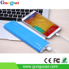 2015 new products dual USB mobile power supply high capacity and portable power bank 10400 mAh