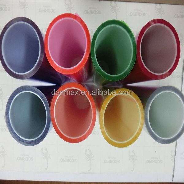 Photochromic auto tansparency chameleon car headlight tint film