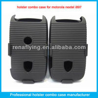 Belt clip holster case for nextel i897 holster with holes