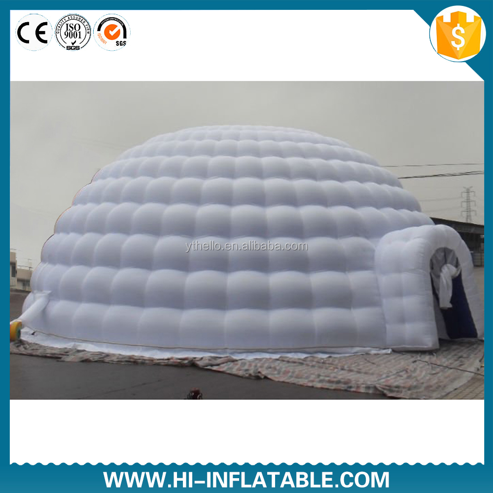 Newest inflatable dome tent inflatable igloo tent inflatable air dome tent disco dome for sale
