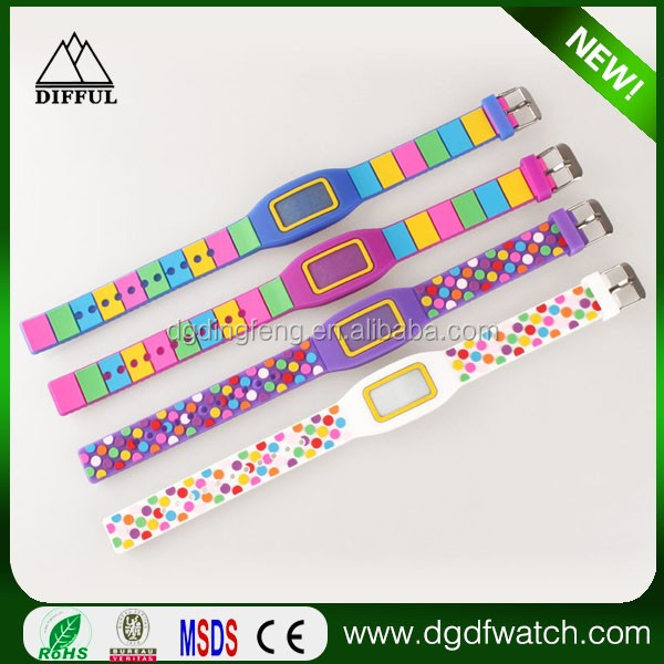 Low Price high quality Wholesale Cheap Silicone LED watches