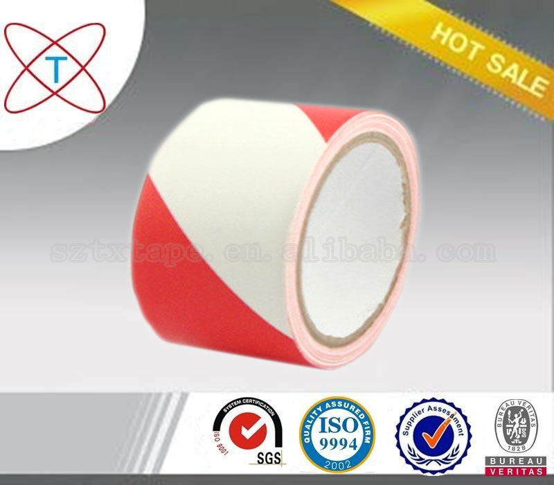 Printed/printing PVC floor warning/caution/marking tape