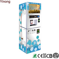 Coin operated protein shake vending machine Coffee machine vending