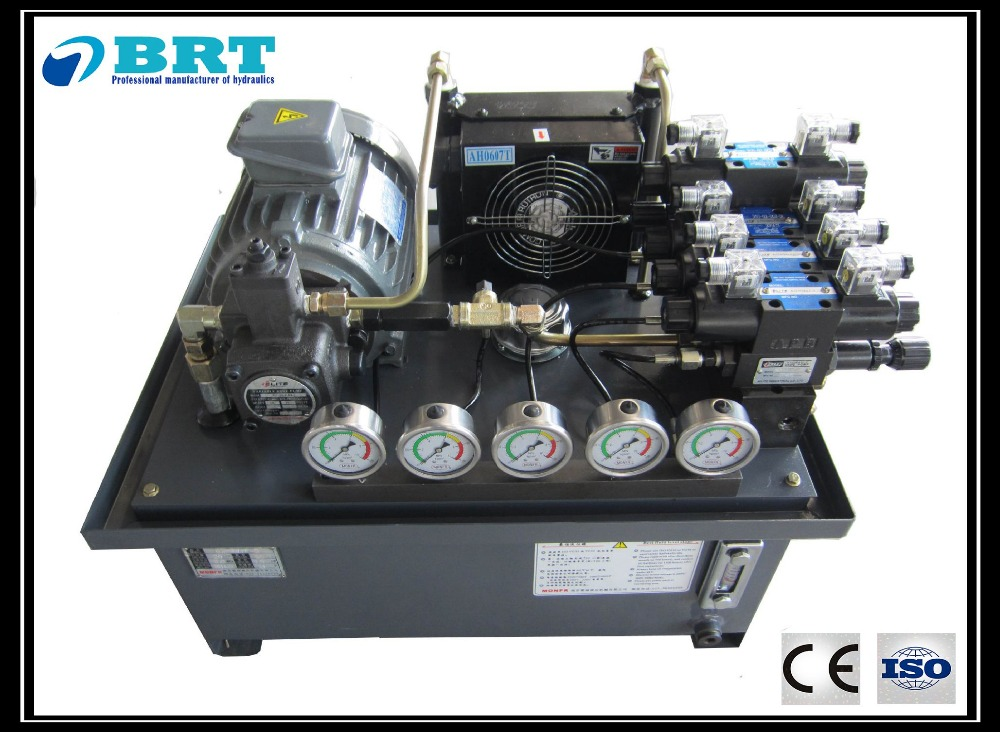 small hydraulic system/hydraulic station for construction