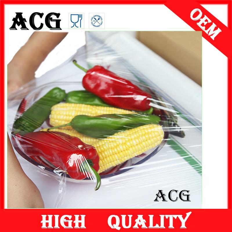 disposable commercial plastic wrap for food
