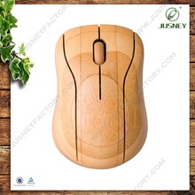 Real Bamboo Mouse for Computer or Laptop notebook style design wireless mouse