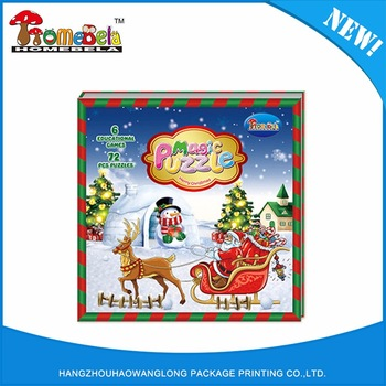 2016 Top Quality Creative Kids Puzzle Book Wholesale In China