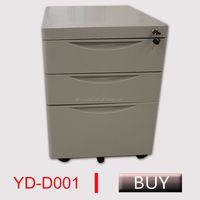 steel office mobile cabinet