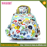 Personalized sublimation custom environmental kids school bags