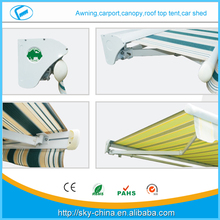 DIY market top sale aluminium car awning