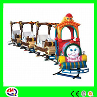 Lovely fairy design smoke train toy sets with 4 cabins for sale