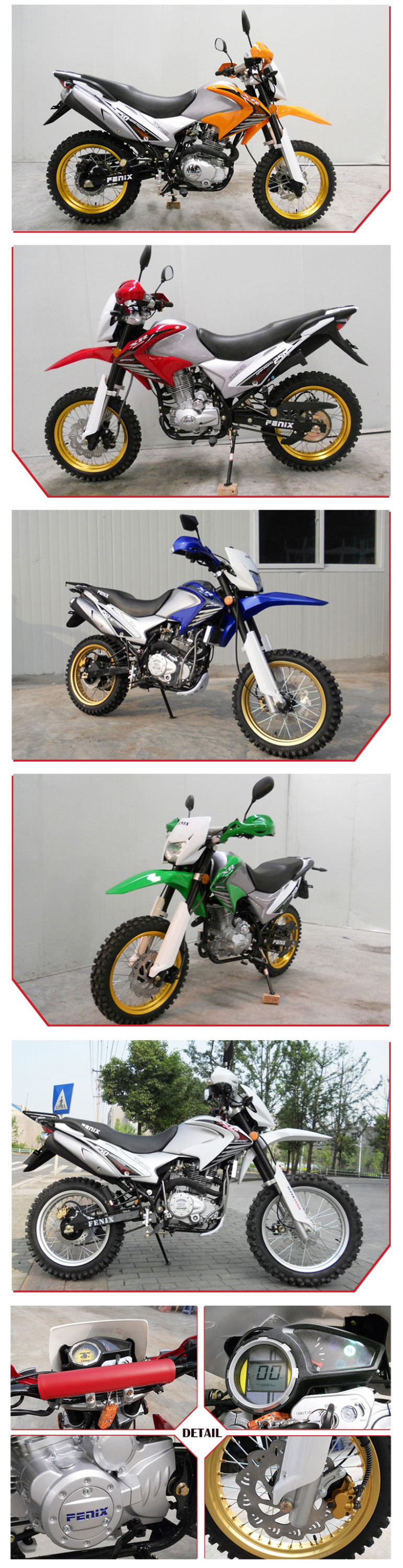 Cheap Sale High Quality Chinese New Cross 250CC Dirt Bike