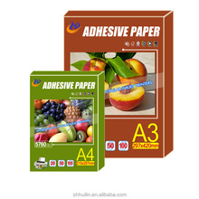 a4 a3 waterproof inkjet self adhesive back glossy matte transparent sticker printing photo paper rolls