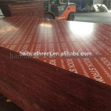 Red/Black/Brown Film Faced Plywood for Concrete Shuttering