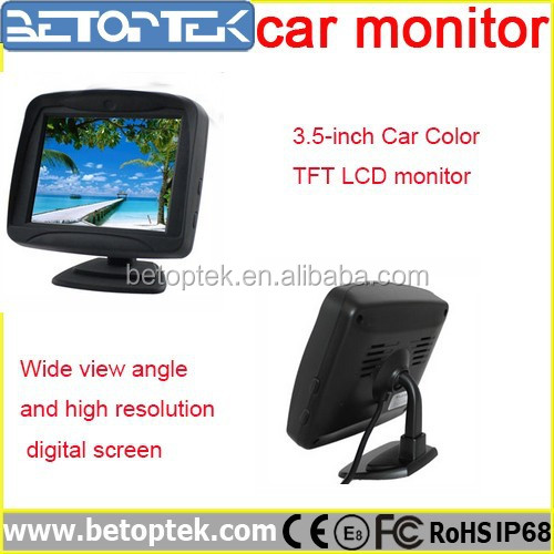 Wide View Angle High Resolution3.5-inch Car Color TFT LCD monitor