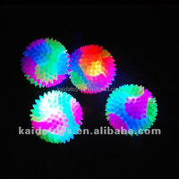 Kid toys infant toy Children's toys stunning light-emitting bouncing ball Colorful