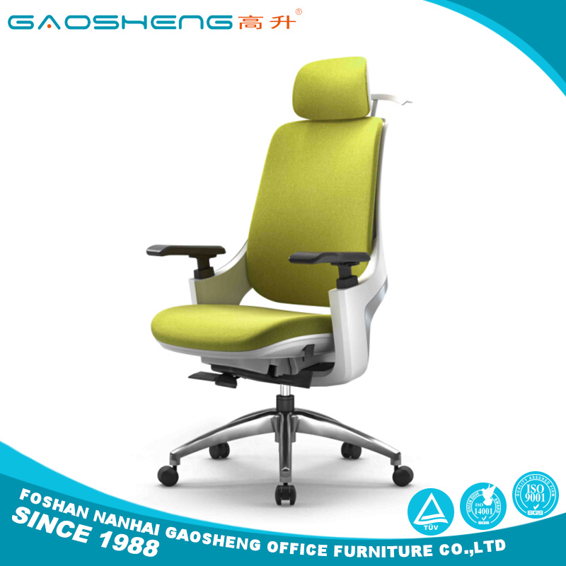 Air conditioned high back executive leather luxury office chair