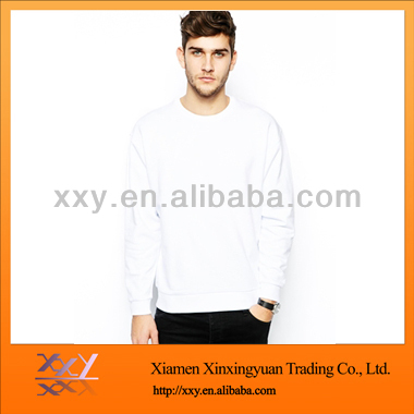 Men's Custom Fleece Sweatshirts OEM Service Cheap Sweater