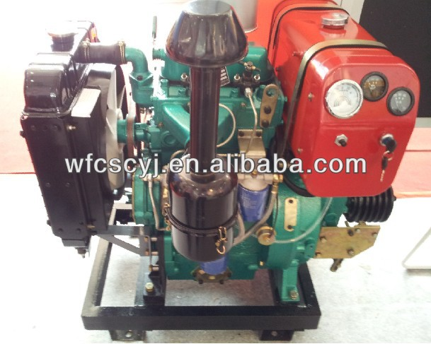 Stationary Power Diesel Engines / DIESEL POWER UNIT/ twin cylinder 30 hp