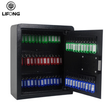 Electronic key hanging safe box