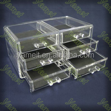 Acrylic display pierced earring jewelry box