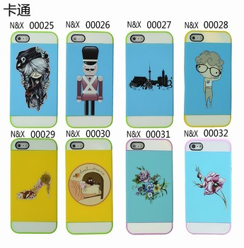 New Design Phone Cover Case DIY Colorful Person Phone Mobile Accessory For iphone5
