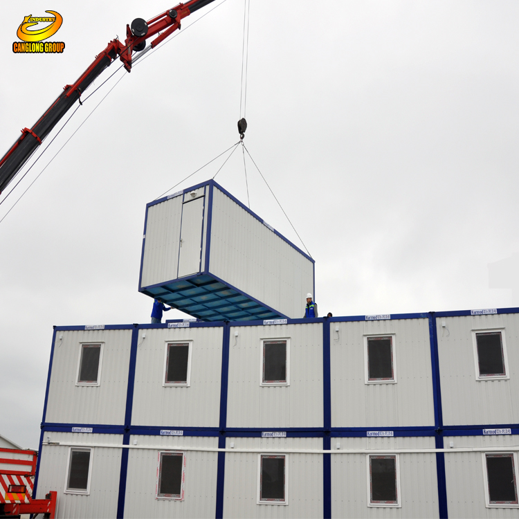 Fast Assembly Modern design shipping 20ft/40ft container house