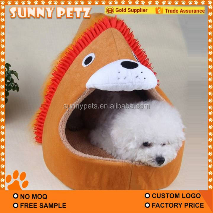 Custom Luxury Dog Bed Stuffed Pet Bed House