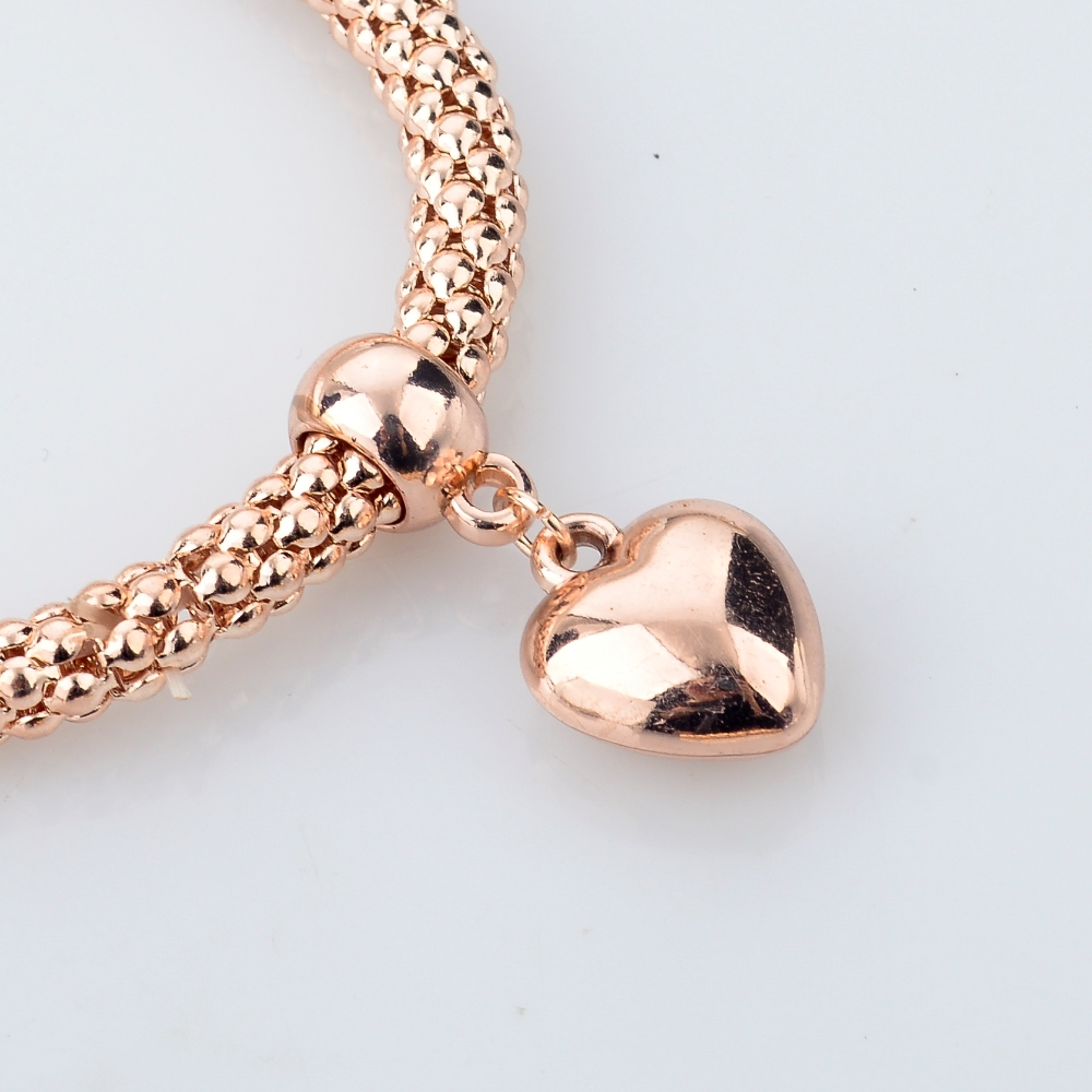 moda marchi famosi gioielli braccialetto di fascino cuore