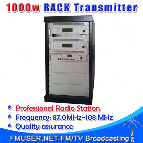 CZH618F-1KW 1000w 1kw RACK Free Radio Station radio broadcast transmitter professional for FM radio station-RC1