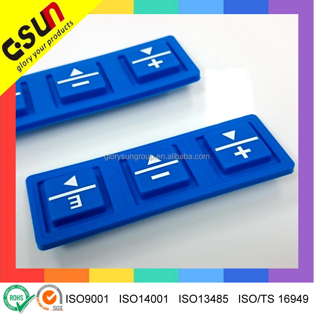 Professional custom made Silicone rubber Keypad products