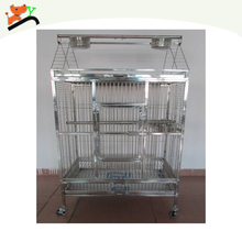 New Factory Direct Real Stainless Steel Bird Cages Hot Sale
