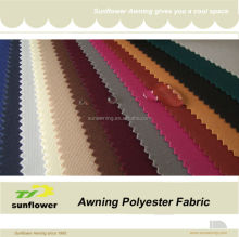 Waterproof acrylic fabric for awnings