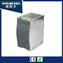 DR-120-24 Din Tail Type 24v Switching Power Supply with CE ROHS