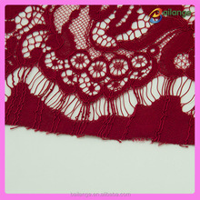2015 light siam lace fabric for carnival dresses