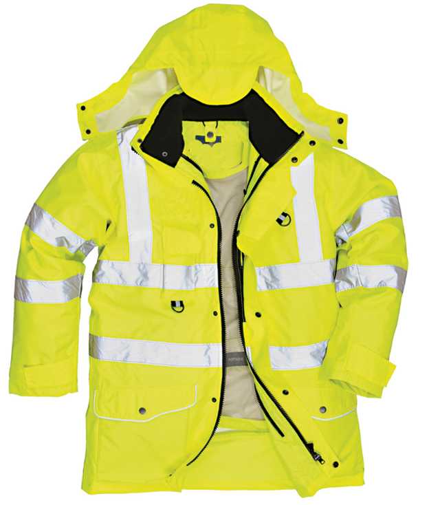 High Visibility <strong>safety</strong> 5in1 jacket <strong>safety</strong> workwear