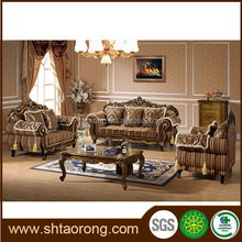 Luxury classical living room sofa sets french provincial furniture sofas