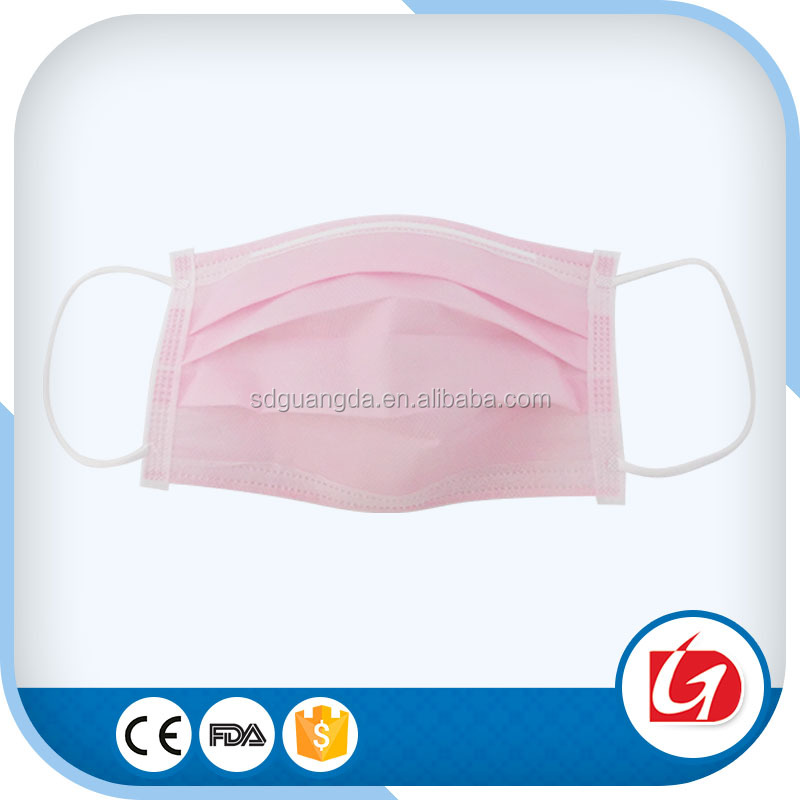 Factory manufacturing medical consumable 3 ply surgical face mask