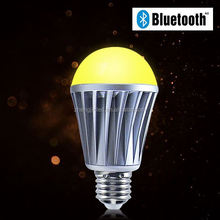 UL certificated new lighting product iphone control music flash Bluetooth new lg-g011b192led grow light bulb for flowering